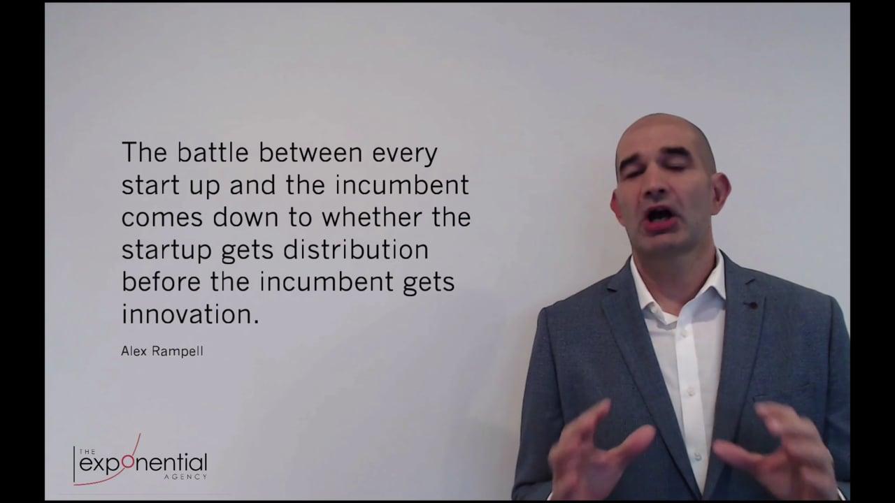 Innovation incumbent vs. start up